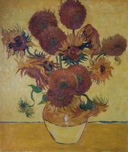 The sunflowers - oil painting reproduction