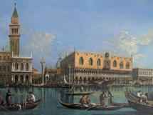 View of the St. Mark's Basin - oil painting reproduction